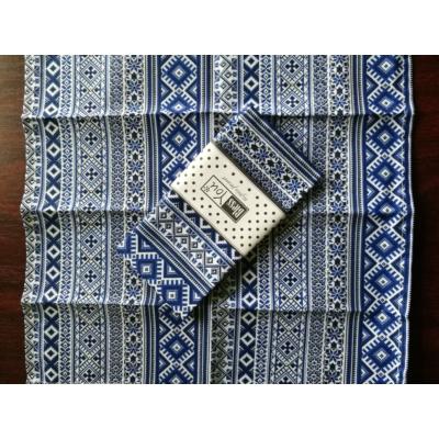 Asztali textil szalvéta - skandináv kék