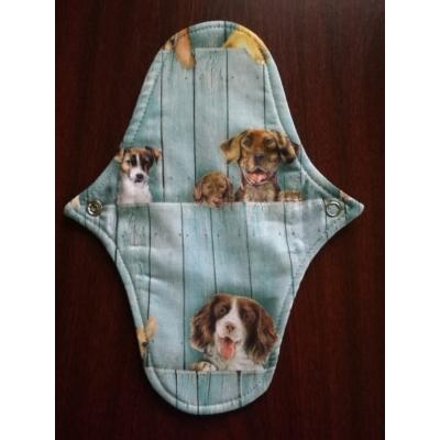 Emilla mosható női intimbetét Niké (S-M) közepesen vastag - Peeping dog
