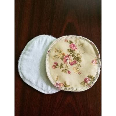 Manóca mosható melltartó betét flanel - rózsás
