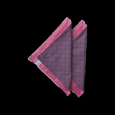 Cibi Asztali textil szalvéta - pink padlizsán