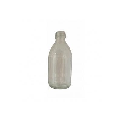 Háztartási üveg - 250 ml - átlátszó, 28 mm-es menettel