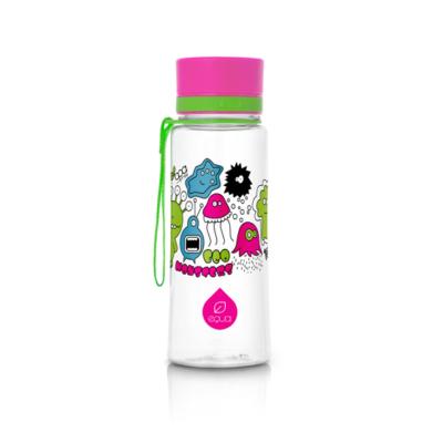 Equa kulacs - Pink szörnyecskék 400 ml