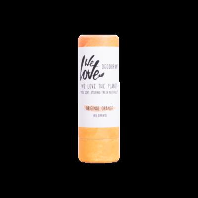 We Love The Planet stiftes krémdezodor - original orange 65 g