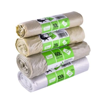 Ecoizm szemeteszsák újrahasznosított műanyagból - 10 l