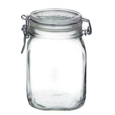 Fido csatos üveg tároló 1 liter