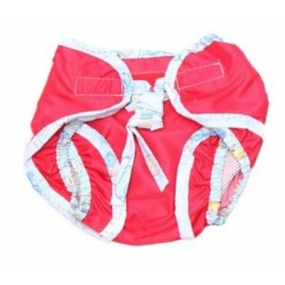 Monapel Aqua mosható úszópelenka S (3-6 kg) piros